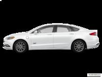 2018 Ford Fusion Energi TITANIUM | Photo 1 | White Platinum