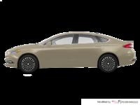 2018 Ford Fusion Hybrid PLATINUM | Photo 1 | White Gold