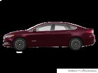 2018 Ford Fusion Hybrid PLATINUM | Photo 1 | Burgundy Velvet