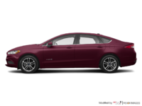2018 Ford Fusion Hybrid SE   Photo 1   Burgundy Velvet