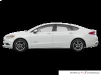 2018 Ford Fusion Hybrid SE   Photo 1   White Platinum