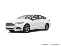 2018 Ford Fusion Hybrid SE   Photo 3   Oxford White