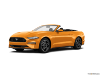 2018 Ford Mustang Convertible EcoBoost | Photo 3 | Orange Fury Metallic Tri-Coat