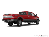2018 Ford Super Duty F-250 KING RANCH   Photo 2   Ruby Red/Stone Grey