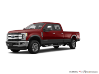 2018 Ford Super Duty F-250 KING RANCH   Photo 3   Magma Red/Stone Grey