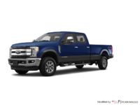 2018 Ford Super Duty F-250 KING RANCH   Photo 3   Blue Jeans /Stone Grey