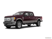 2018 Ford Super Duty F-350 LARIAT | Photo 3 | Magma Red/Stone Grey