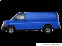 2018 GMC Savana 2500 CARGO   Photo 1   Marine Blue Metallic