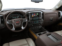 2018 GMC Sierra 3500HD SLT | Photo 3 | Cocoa/Dune Bucket seats Perforated Leather (H3A-AN3)