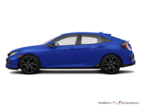 2018 Honda Civic hatchback SPORT HONDA SENSING | Photo 1 | Aegean Blue Metallic