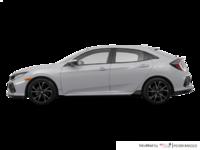 2018 Honda Civic hatchback SPORT HONDA SENSING | Photo 1 | Lunar Silver Metallic
