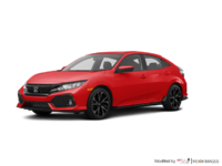 2018 Honda Civic hatchback SPORT HONDA SENSING | Photo 3 | Rallye Red