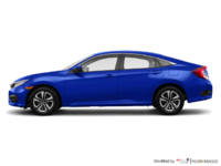 2018 Honda Civic Sedan LX | Photo 1 | Aegean Blue Metallic