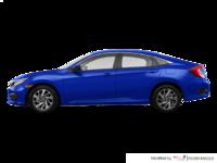 2018 Honda Civic Sedan SE | Photo 1 | Aegean Blue Metallic