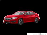 2018 Honda Civic Sedan TOURING   Photo 3   Rallye Red