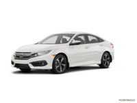 2018 Honda Civic Sedan TOURING   Photo 3   White Orchid Pearl