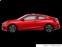 2018 Honda Civic Coupe EX-T HONDA SENSING   Photo 1   Rallye Red