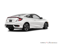 2018 Honda Civic Coupe EX-T HONDA SENSING   Photo 2   White Orchid Pearl