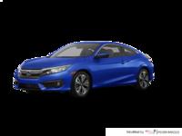 2018 Honda Civic Coupe EX-T HONDA SENSING   Photo 3   Aegean Blue Metallic