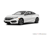 2018 Honda Civic Coupe EX-T HONDA SENSING   Photo 3   White Orchid Pearl
