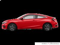 2018 Honda Civic Coupe LX-HONDA SENSING | Photo 1 | Rallye Red