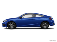 2018 Honda Civic Coupe LX   Photo 1   Aegean Blue Metallic