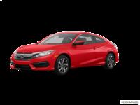 2018 Honda Civic Coupe LX   Photo 3   Rallye Red