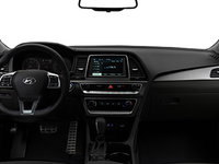 2018 Hyundai Sonata 2.0T SPORT | Photo 3 | Black Leather w/Grey Piping