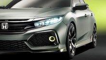 La nouvelle Honda Civic Hatchback 2017 montre enfin ses couleurs