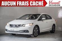 2013 Honda Civic Sdn 2013+EX+A/C+GR ELEC+CAMERA RECUL+TOIT+MAGS