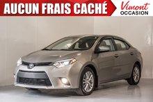 Toyota Corolla 2014+LE+CUIR+TOIT+NAV+CAMERA RECUL+FOGS 2014