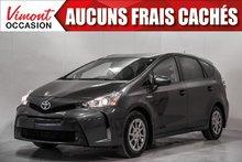 2015 Toyota Prius v 2015+HB+TECHNOLOGIE+CUIR+NAV+TOIT+CAMERA RECUL