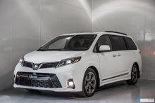 Toyota Sienna SE GROUPE TECHNOLOGIE 2018