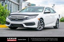 2016 Honda Civic Sedan **EX**LANE WATCH**