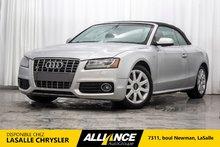 Audi S5 PREMIUM | QUATTRO | DECAPOTABLE | SIEGES CHAUFF | 2010