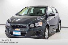 Chevrolet Sonic ONSTAR 4G LTE WI-FI, CAMERA DE RECUL 2016