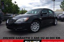 2014 Chrysler 200 LX LX 59$/SEM 1 SEUL PROPRIÉTAIRE,JAMAIS ACCIDENTE