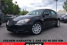 Chrysler 200 LX LX 59$/SEM 1 SEUL PROPRIÉTAIRE,JAMAIS ACCIDENTE 2014