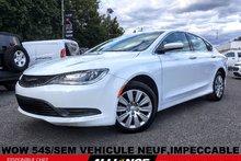 2016 Chrysler 200 LX WOW 54$/SEM VEHICULE NEUF