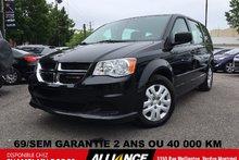 Dodge Grand Caravan SE | 69$/SEM | 18 000 KM SEULEMENT | IMPECCABLE!! 2014