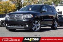 2011 Dodge DURANGO CITADEL Citadel 4X4 Tres Propre