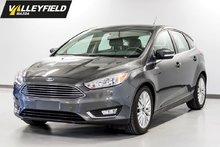 2016 Ford Focus Titanium, système de navigation, siège en cuir, to