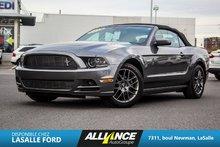 2014 Ford Mustang V6 Premium-CUIR-BANC CHAUFFANT-DECAPOTABLE-
