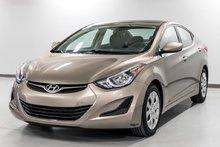 Hyundai Elantra GL - NOUVEAU EN INVENTAIRE 2014