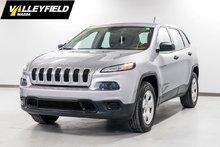 2014 Jeep Cherokee Sport AWD, 4 cyl. économique!