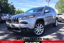 2016 Jeep Cherokee LIMITED 99$/SEM CUIR,NAVIGATION,SIEGE MEMOIRE