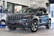 Jeep Cherokee Trailhawk,CUIR,NAV,BAS MILLAGE WOW!!!! 2017