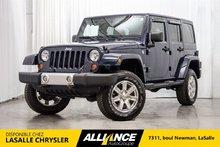 2013 Jeep Wrangler Unlimited Sahara I Lift KIT   Cuir   Sieges Chauffants