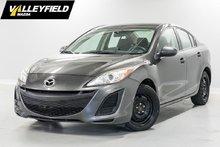 2011 Mazda Mazda3 GX Bas prix!