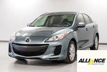 2012 Mazda Mazda3 GX GARANTIE D'UN AN INCLUSE !